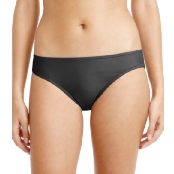 464a479493 New J. Crew Hipster Bikini Bottoms Dark Charcoal